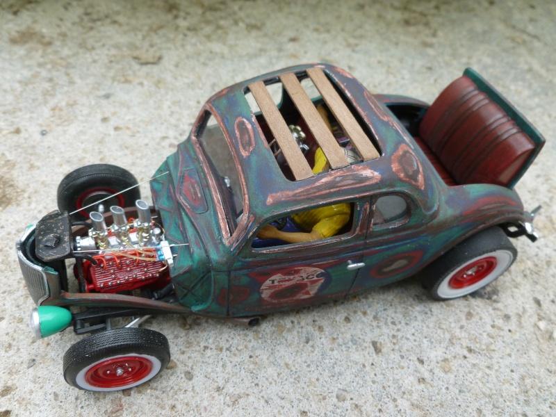 Ford 36' rat rod to Texaco P1020675