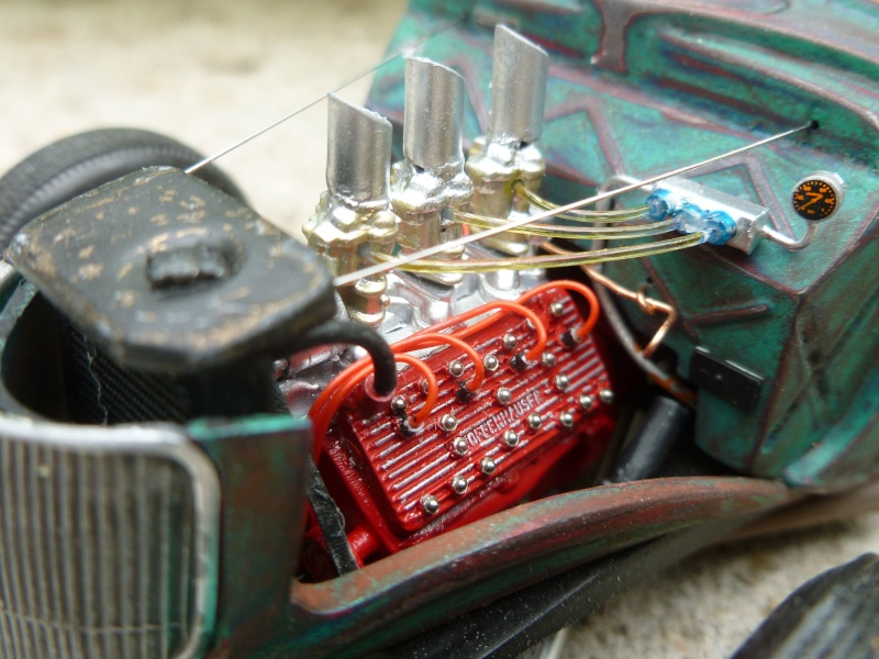 Ford 36' rat rod to Texaco P1020710