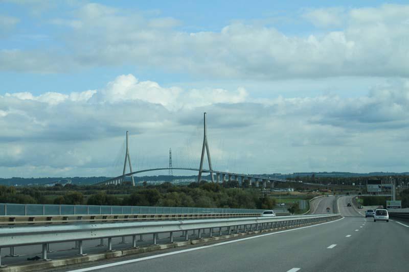 Le Pont de Normandie Route_10