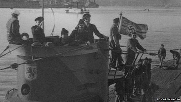Les U-Boote, sous-marins de la Kriegsmarine U57610