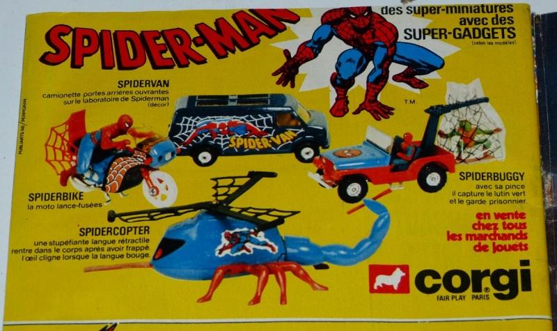 """Les """"petites voitures"""" à l'effigie des héros des années 80 - Page 3 Spidey10"""