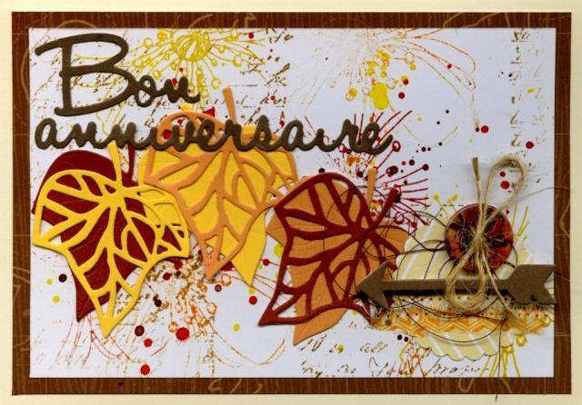 """Défi septembre : """"aux couleurs des feuilles d'automne"""" Carte_30"""