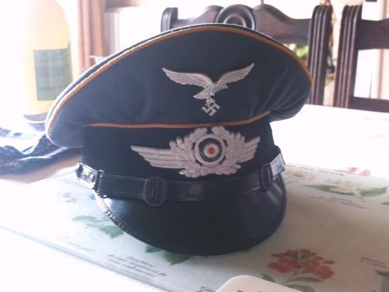 Estimation casquette allemande (sous-officier d'infanterie) brute de découverte 1_schi10