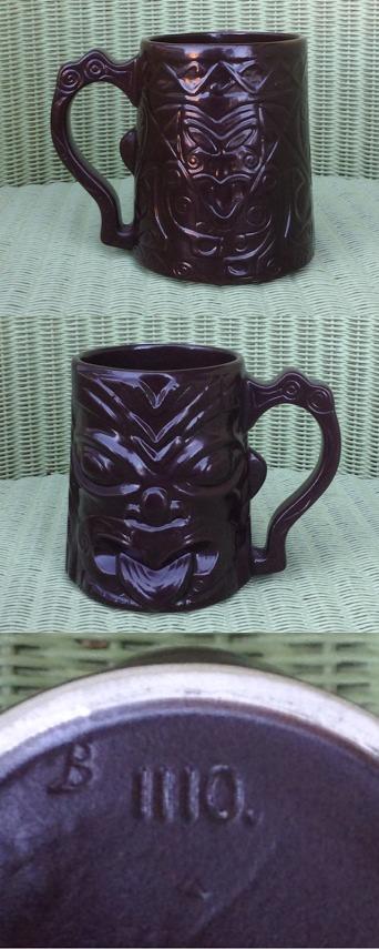 Wharetana - not Wharetana, not Ngakura, Souvenir Maori Mug 1110 (and an intro to Parker tiki mugs) 111010