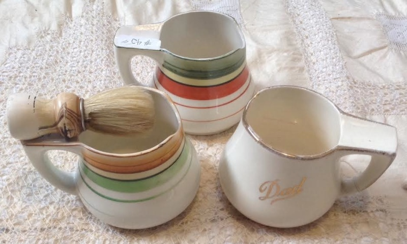 Rare Crown Lynn Jug, one of a kind? - Is a 714 old shaving mug .. 3shavi10