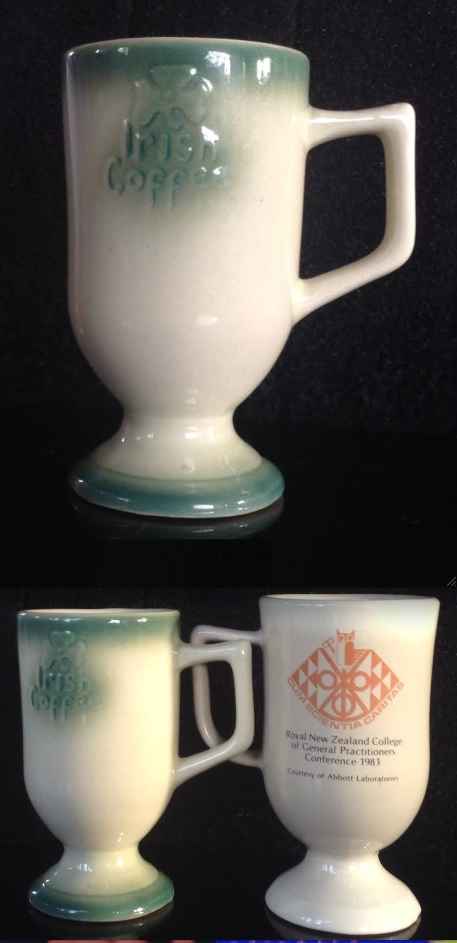 Teal Ceramics Irish Coffee Mug for GALLERY Irish10
