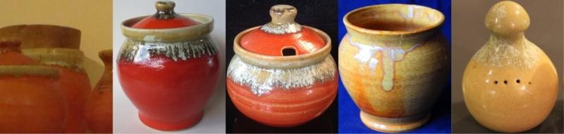 For gallery handpotted Beach Artware  Orange10