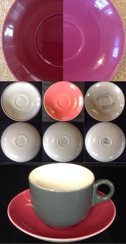 Plum Vitrified 739 Saucers: I need some Carlton cups to match Plum10