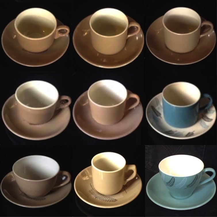 Reflections duos: a guide to matching cups and saucers Reflec14
