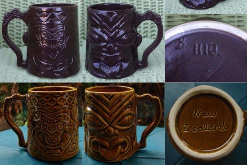 Wharetana - not Wharetana, not Ngakura, Souvenir Maori Mug 1110 (and an intro to Parker tiki mugs) Tiki210