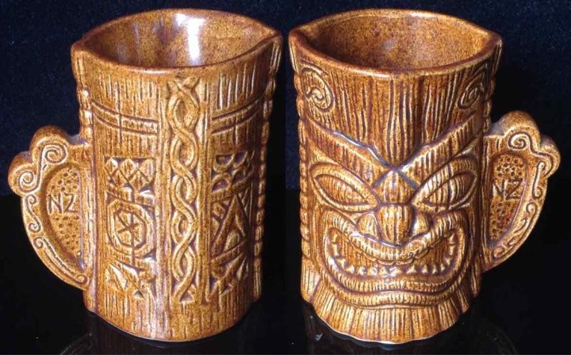 Wharetana - not Wharetana, not Ngakura, Souvenir Maori Mug 1110 (and an intro to Parker tiki mugs) Tiki310