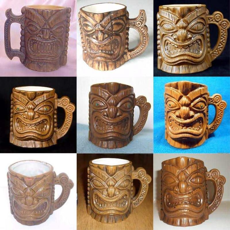 Wharetana - not Wharetana, not Ngakura, Souvenir Maori Mug 1110 (and an intro to Parker tiki mugs) Tikimu10