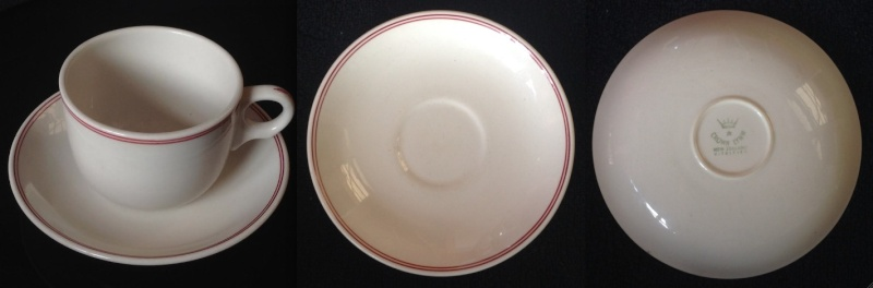 Vitrified Cups and Saucers---A Guide Vit110