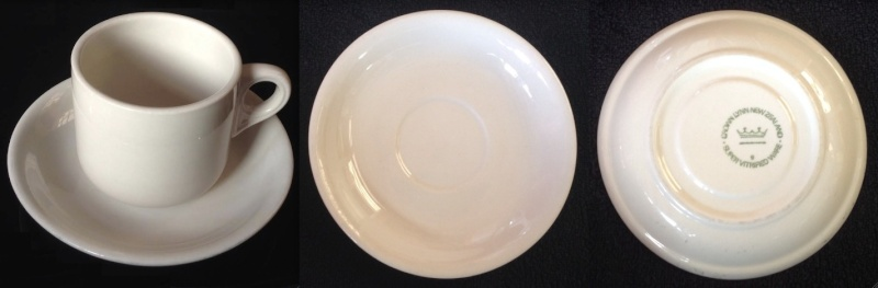Vitrified Cups and Saucers---A Guide Vit710