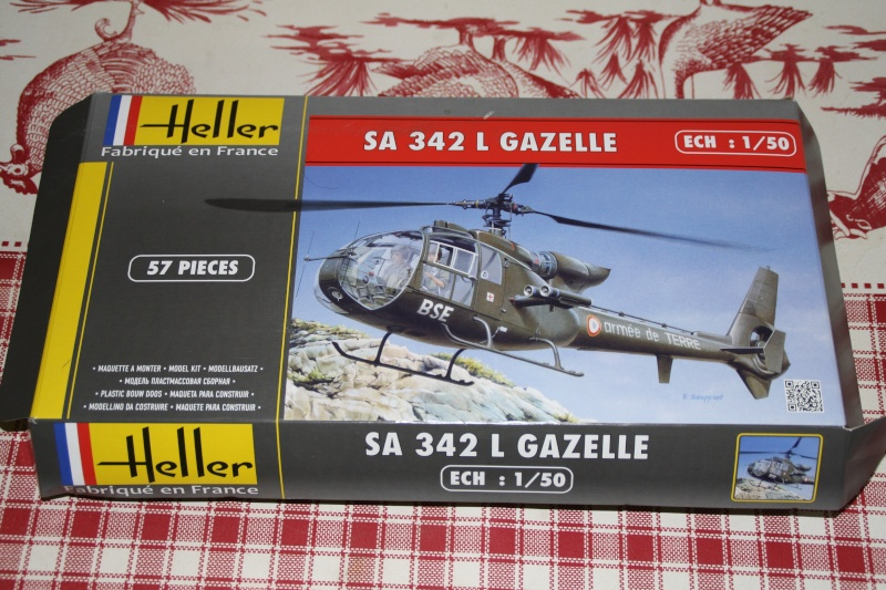 SA 342L Gazelle HELLER 1/50 Img_7510