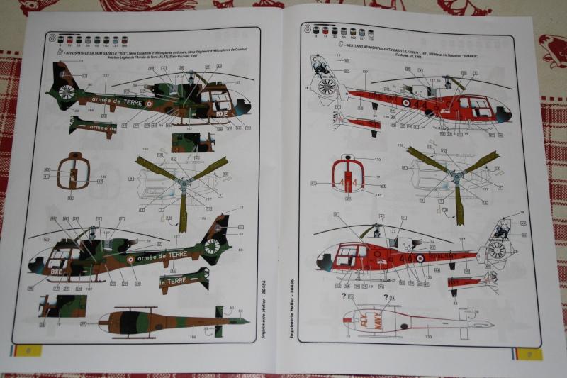 SA 342L Gazelle HELLER 1/50 Img_7512
