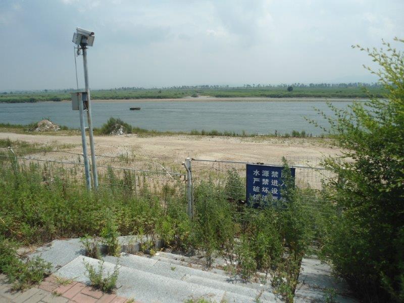 frontiere Nord Koreenne avec la Chine Dsc05413