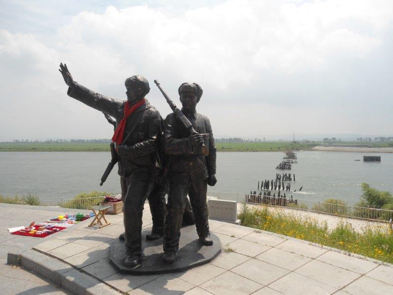 frontiere Nord Koreenne avec la Chine Dsc05414