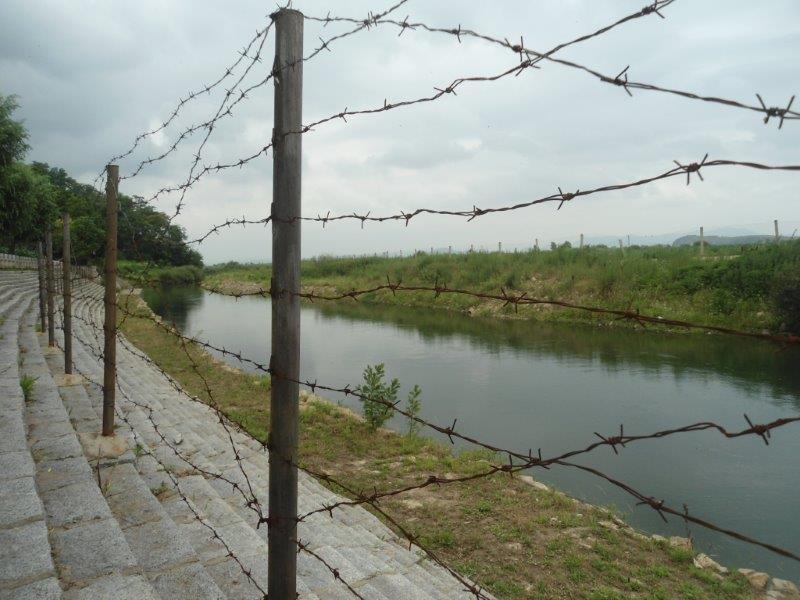 frontiere Nord Koreenne avec la Chine Dsc05522