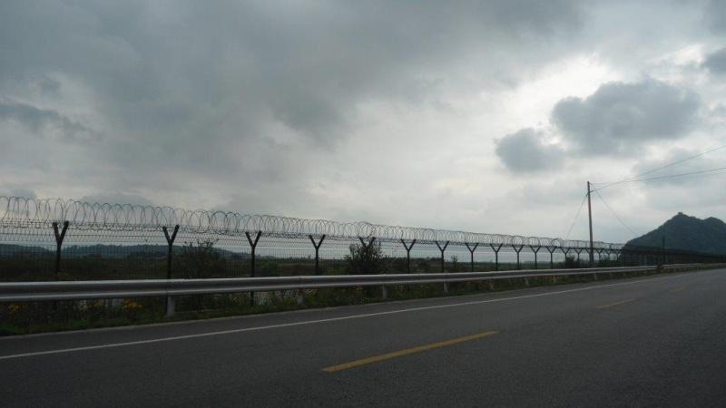 frontiere Nord Koreenne avec la Chine Dsc05610