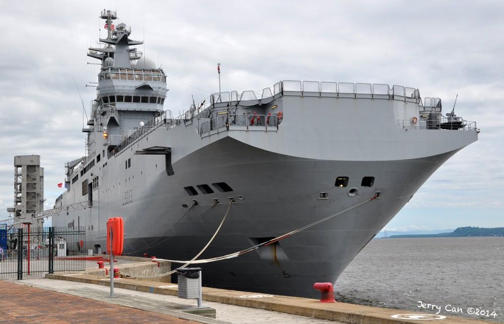 Le BPC Mistral, de la marine nationale française, en visite à Québec Srb_0650