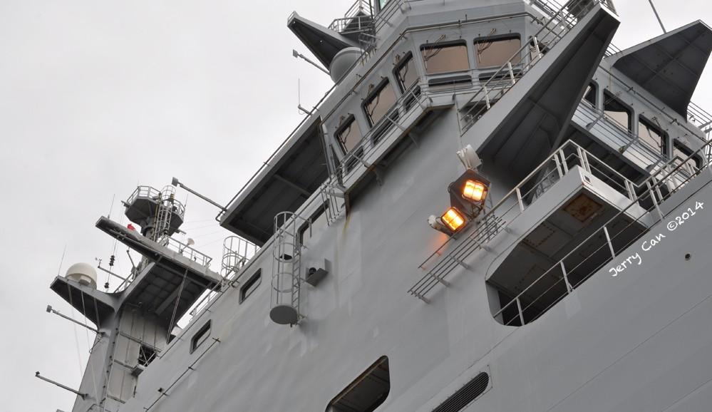 Le BPC Mistral, de la marine nationale française, en visite à Québec Srb_0652