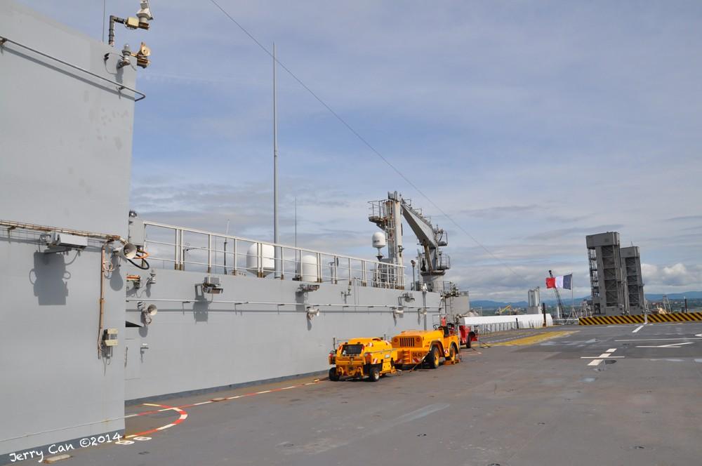 Le BPC Mistral, de la marine nationale française, en visite à Québec Srb_0665