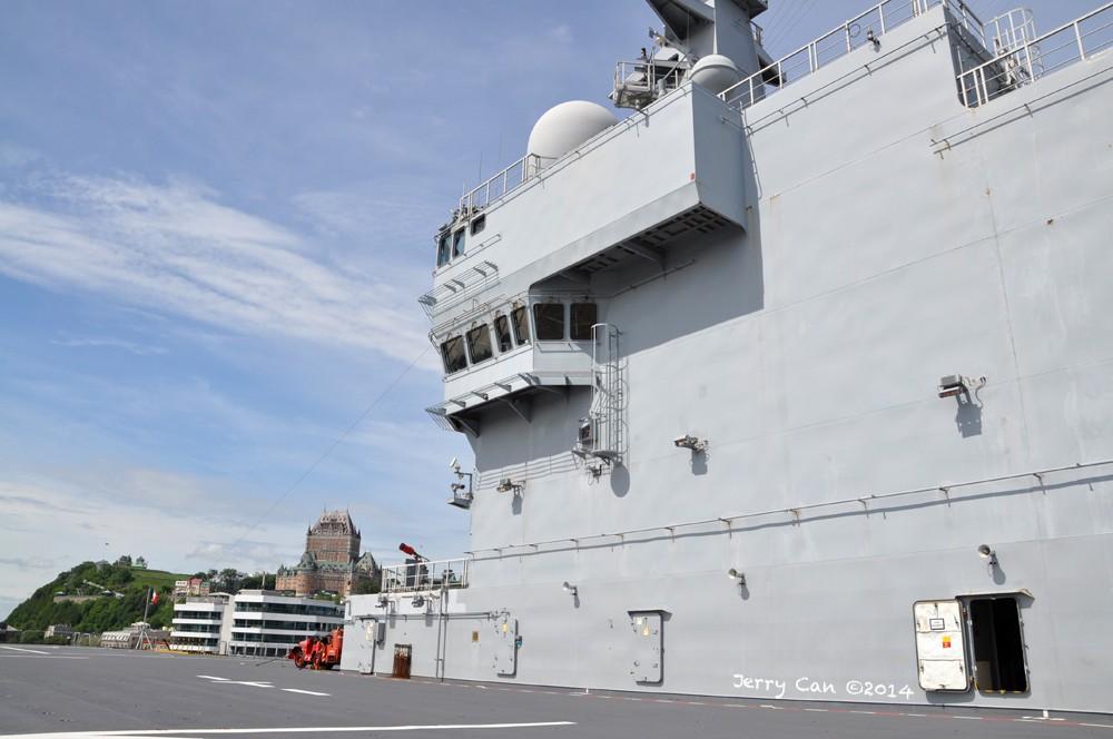 Le BPC Mistral, de la marine nationale française, en visite à Québec Srb_0666
