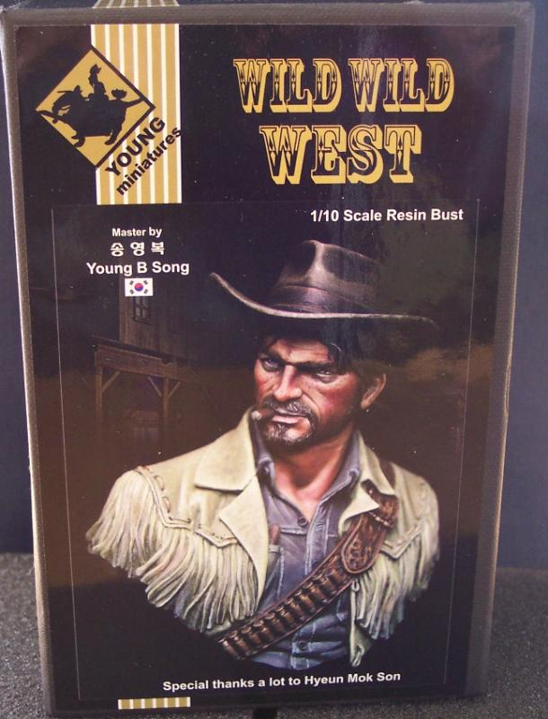 Wild West Young Miniatures Büste in 1/10 100_9610