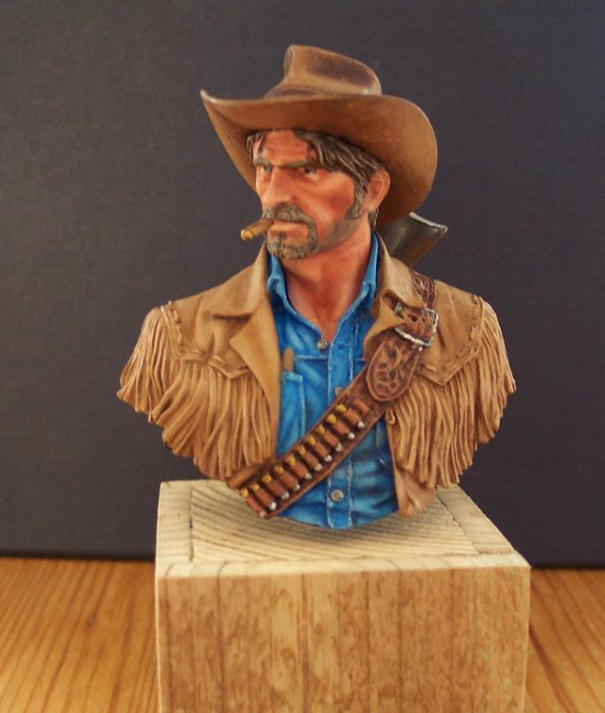 Wild West Young Miniatures Büste in 1/10 Fertig50