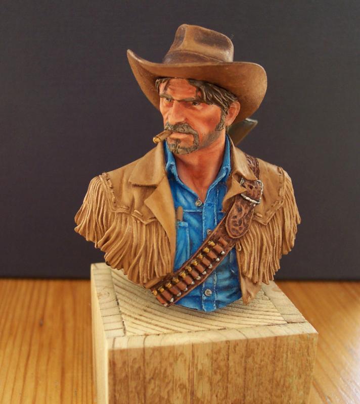 Wild West Young Miniatures Büste in 1/10 Fertig51