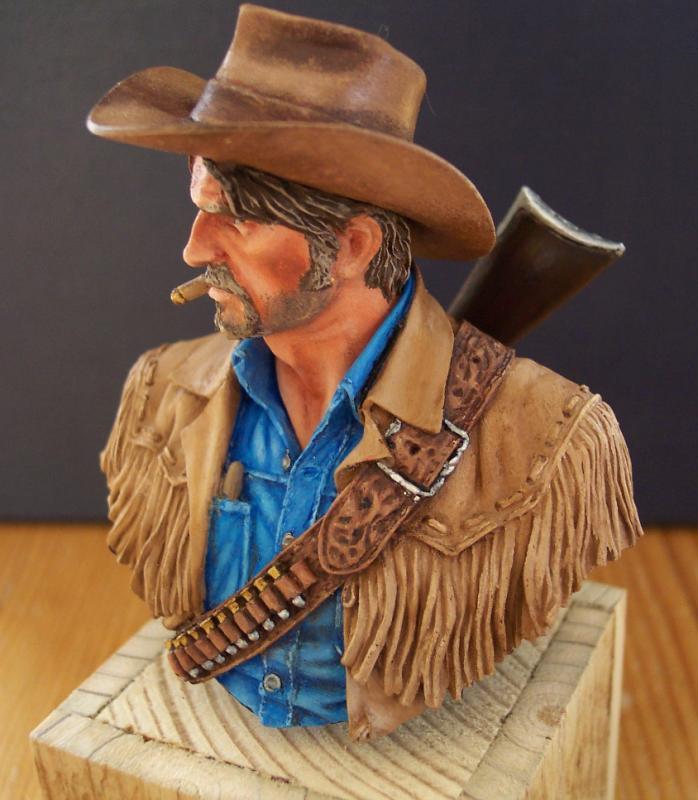 Wild West Young Miniatures Büste in 1/10 Fertig52