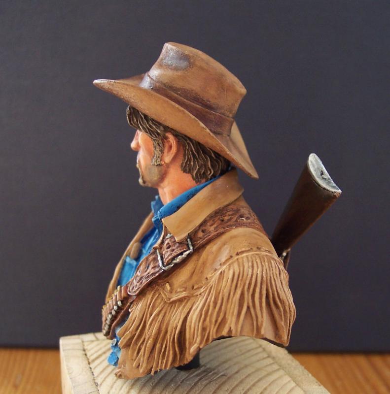 Wild West Young Miniatures Büste in 1/10 Fertig53