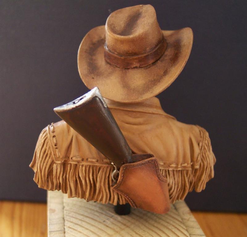 Wild West Young Miniatures Büste in 1/10 Fertig54