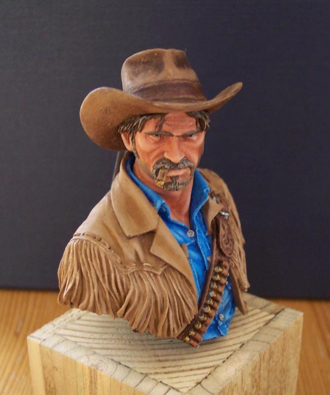 Wild West Young Miniatures Büste in 1/10 Fertig55