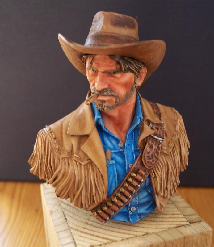 Wild West Young Miniatures Büste in 1/10 Fertig56