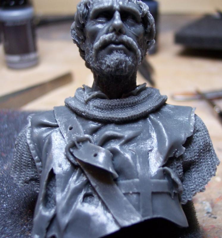 After the Battle, Büste von Andrea Miniatures in 1/10 Forum013