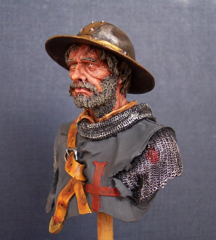After the Battle, Büste von Andrea Miniatures in 1/10 Gesich11