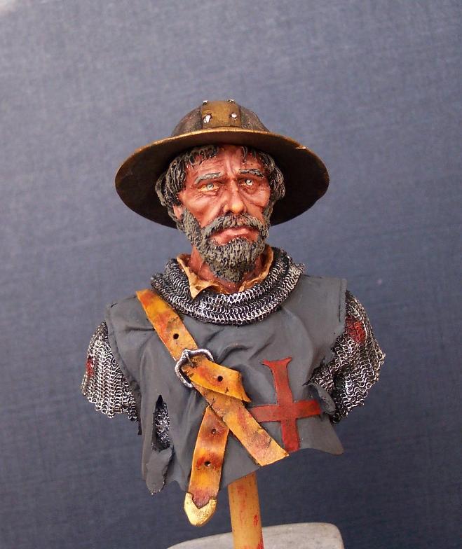 After the Battle, Büste von Andrea Miniatures in 1/10 Gesich12