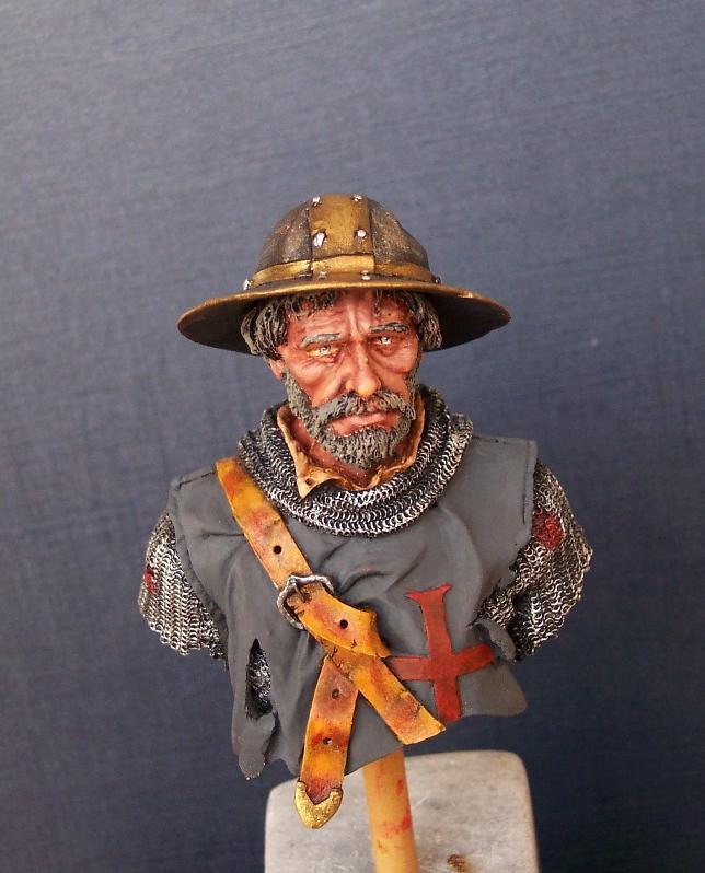 After the Battle, Büste von Andrea Miniatures in 1/10 Gesich13