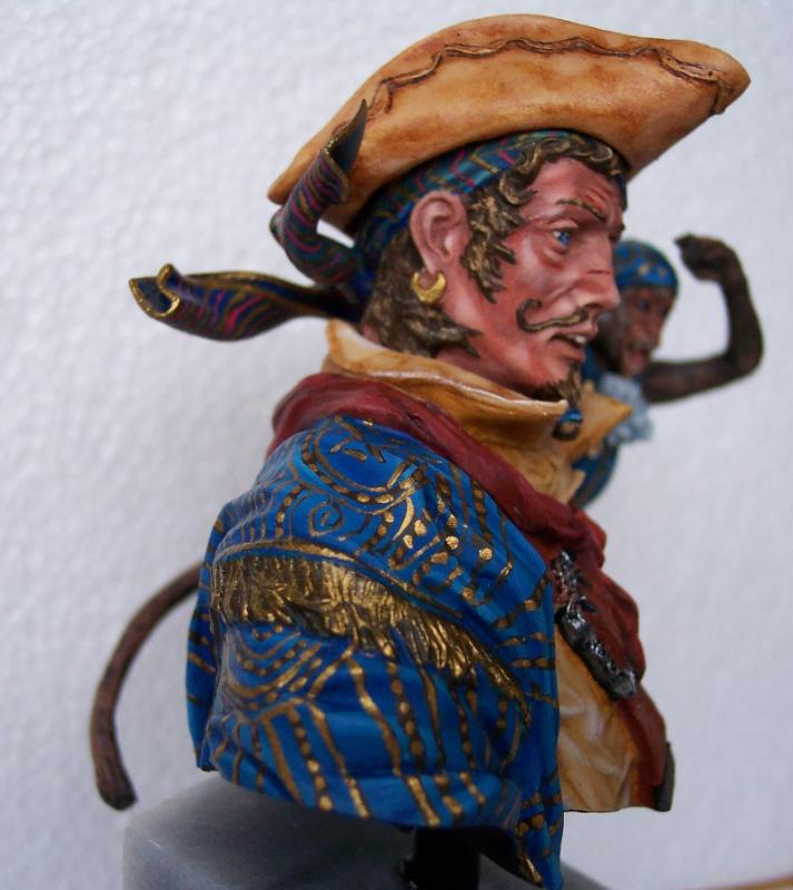 Young Miniature-The Pirat YH1820-Resinbüste 1/10 Piratf13
