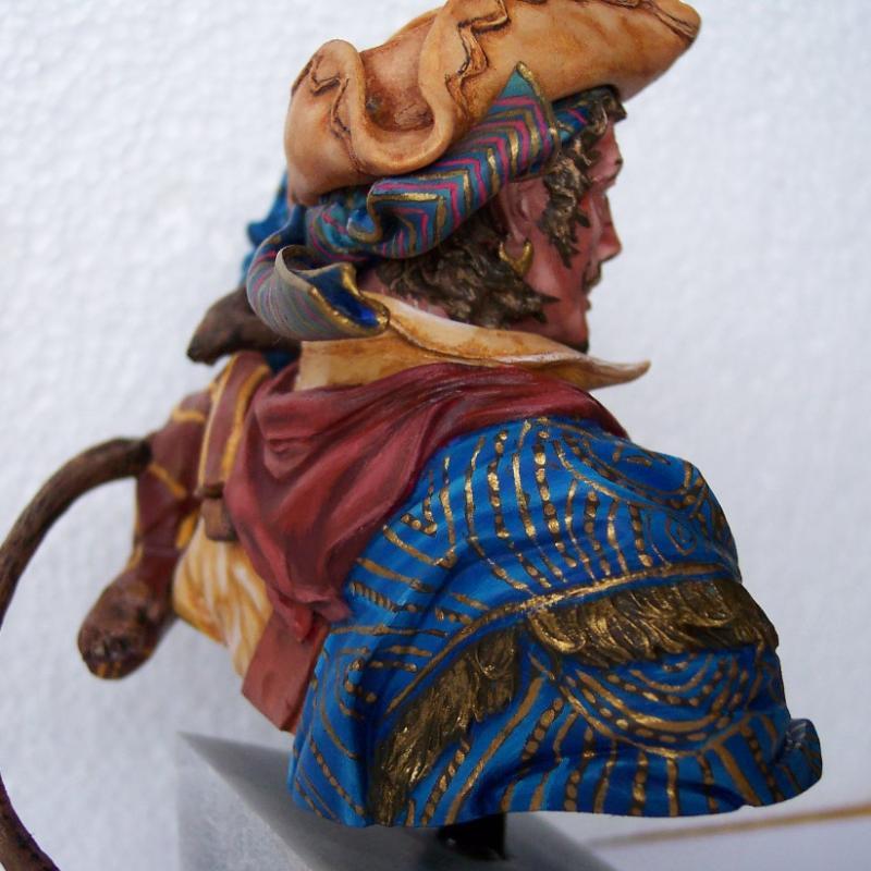 Young Miniature-The Pirat YH1820-Resinbüste 1/10 Piratf14