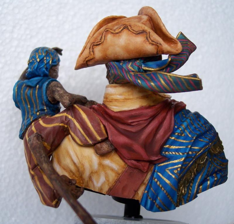 Young Miniature-The Pirat YH1820-Resinbüste 1/10 Piratf15