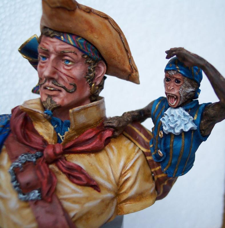Young Miniature-The Pirat YH1820-Resinbüste 1/10 Piratf16