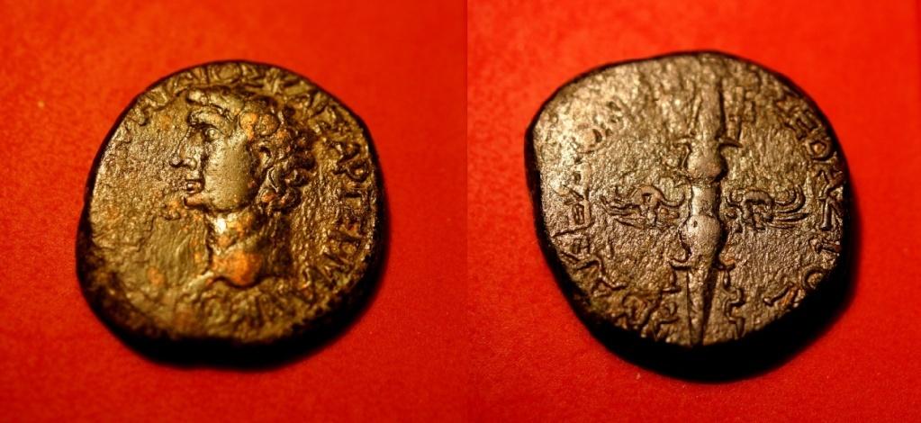 Quelques monnaies provinciales de ma collection  Claudi12