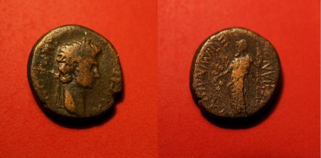 Quelques monnaies provinciales de ma collection  Nero_l10