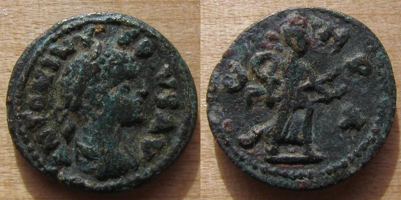 Rare monnaie provinciale de Parium en Mysie, Caracalla Parium10