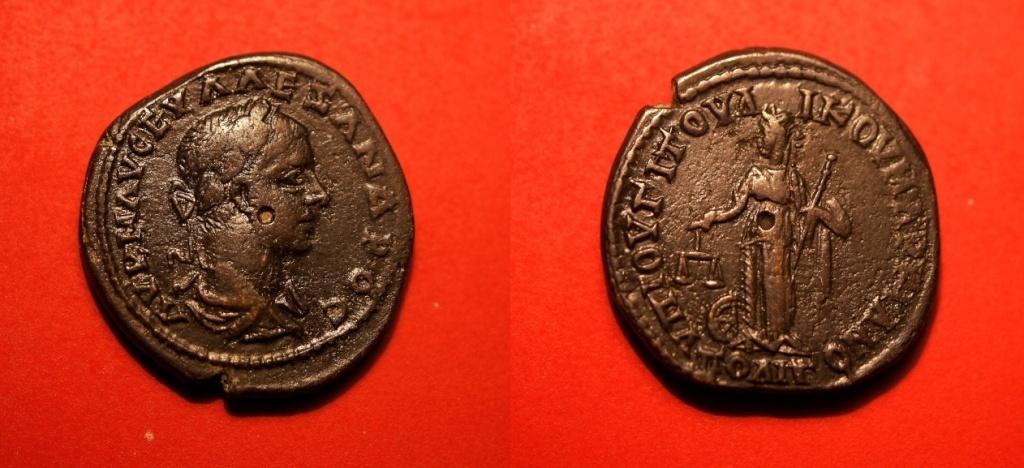 Quelques monnaies provinciales de ma collection  Severu10