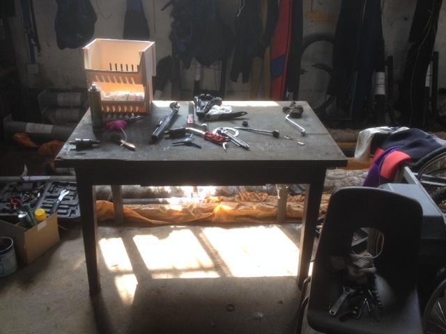 My work Bench & work Photo-11