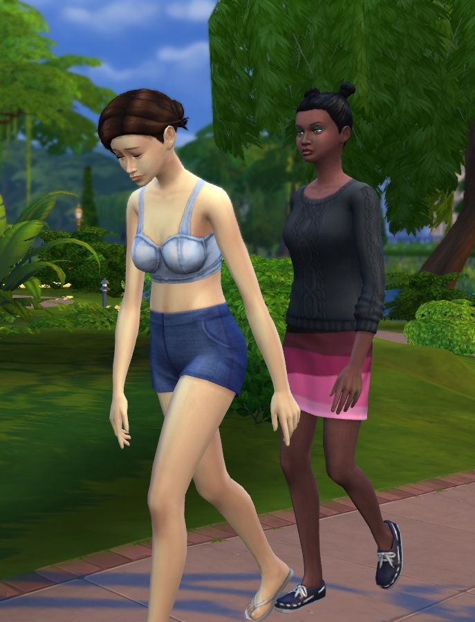 Sims Who Dressed in the Dark SIMs 4 [2014-2018] 09-04-11